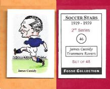 Tranmere Rovers James Cassidy 46 (FC) (R)